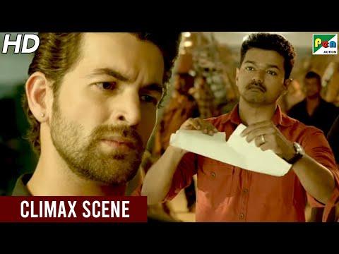 Vijay - Neil Nitin Mukesh Fight Scene   Khakhi Aur Khiladi Climax Scene   Hindi Dubbed Movie