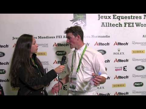 WEG dressage grand prix: H&H talks to Michael Eilberg [VIDEO]