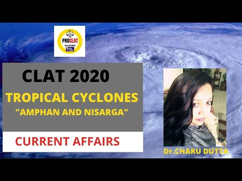 currentaffairs  |Tropical Cyclones| Amphan | Nisarga