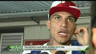 Ontem (20), na Ilha do Urubu, o Mengão empatou com o Palmeiras por 2 a 2 e o elenco do técnico Zé Ricardo acumula três jogos sem vitórias.