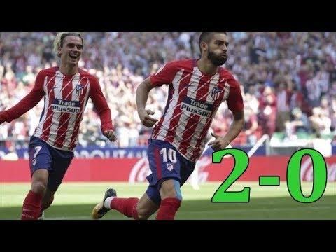 Atletico Madrid vs Sevilla 2-0 - Highlights & Goals - 23 September 2017