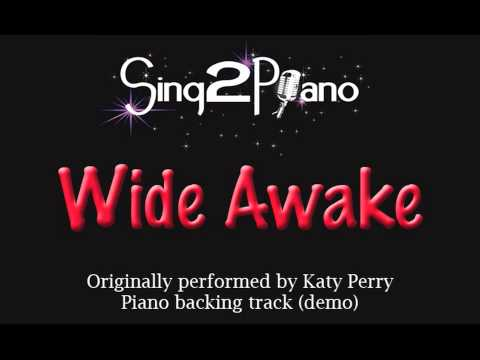 Wide Awake - Katy Perry  Piano Instrumental Song