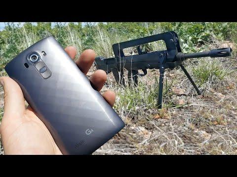 LG G4'ü tüfekle vurdular!