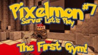Pixelmon Server Minecraft Pokemon Mod Season 2: LittleLizard's Server, Episode 7 - The First Gym