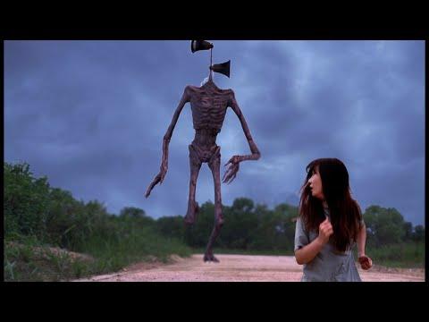 Siren Head in Real Life 사이렌 헤드 실사판 SCP 6789 Halloween 할로윈 공포특집 수아튜브