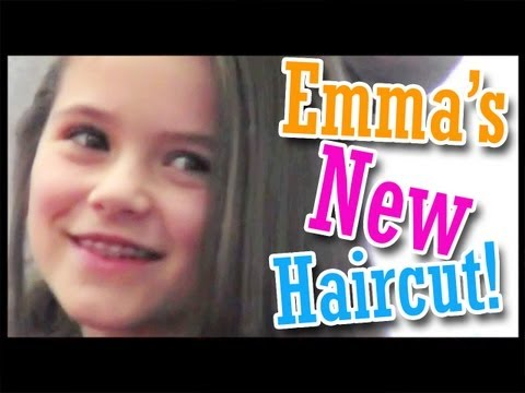 Emma - Another awesome family vlog! This week ... Emma gets a new haircut! It's a big change from what she's used to! We also check on our Geode Eggs at grandma's h...