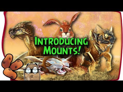 Guild Wars 2 Path of Fire - Introducing Mounts (видео)