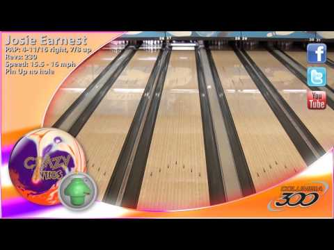 Columbia 300 brings you the new Crazy Antics!! This ball is crazy fun! #letsbowl