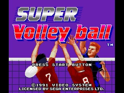 super volleyball genesis rom cool