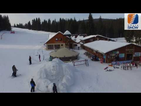 Orava Snow - Oravská Lesná - ©Borow Drone