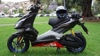 7. Aprilia sr50 sputtering problems
