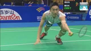 Video Kento MOMOTA vs CHOU Tien Chen - Badminton Asia Championships 2018 QF MP3, 3GP, MP4, WEBM, AVI, FLV Agustus 2018