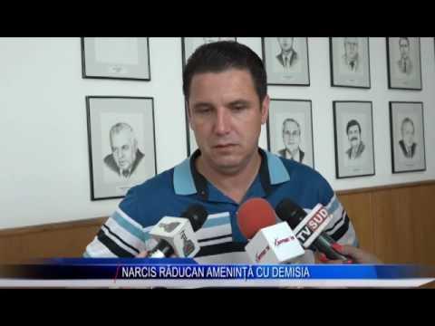 NARCIS RĂDUCAN AMENINȚĂ CU DEMISIA