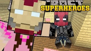 Video Minecraft: SUPERHEROES (BECOME EPIC HEROES & VILLAINS WITH POWERS!) Mod Showcase MP3, 3GP, MP4, WEBM, AVI, FLV Juni 2018