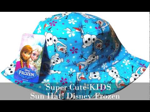 Disney-Frozen-Kids-Beach-Sun-Hat