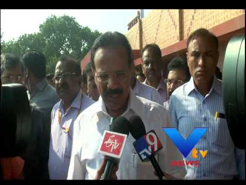 Sadananda Gowda Railway Minister Ahmedabad Visit - VTV 30 September 2014 04 PM