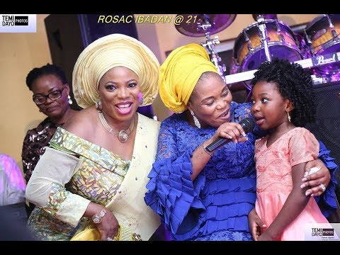 TOPE ALABI PERFORMS LIVE FOR PASTOR @ PROPHETESS MARY OLUBORI: ROSAC @ 21