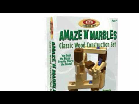 Video New YouTube  video for the 60 Piece Amaze N Marbles Classic Wood