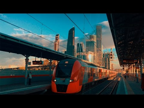 Iphone 7 4k CINEMATIC video. Russia, Moscow (видео)