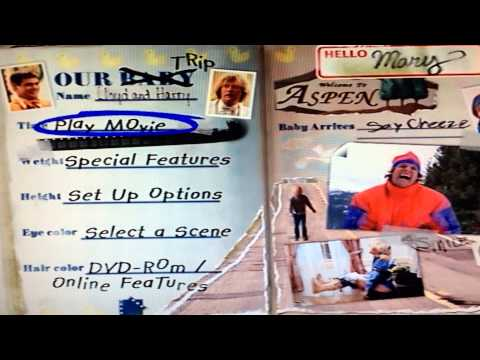 Dumb & Dumber 1994 DVD Menu