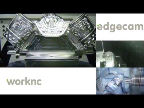 Vero Software GmbH: Zusammenschnitt der CAM-Systeme Edgecam & WorkNC (видео)