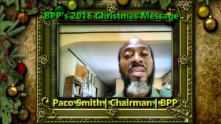 A Christmas Message from The Belize Progressive Party - 2016