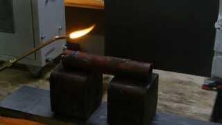 HHO-BOX 8 сварка водопроводной трубы 4 мм.
