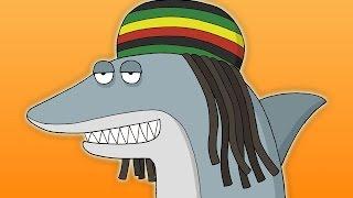 Reggae Shark - Key of Awesome #89 (Animated)