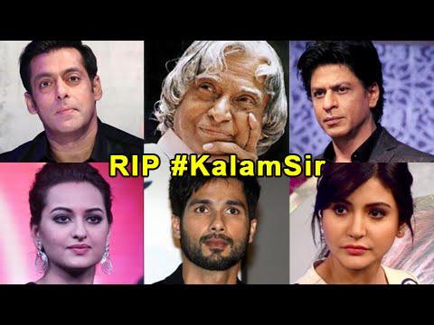 Bollywood Reacts To APJ Abdul Kalam's Demise   Sal