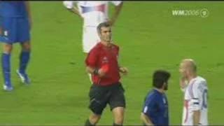 WM 2006: Zidanes Kopfstoß im Finale