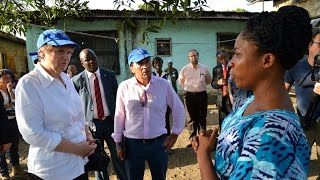Helen Clark Applauds Ebola Recovery In Liberia