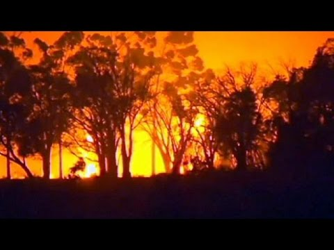 Αυστραλία: Τρεις αγνοούμενοι σε μεγάλη πυρκαγιά