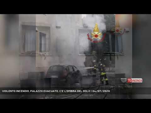 VIOLENTO INCENDIO, PALAZZO EVACUATO, C'E' L'OMBRA DEL DOLO | 04/07/2020