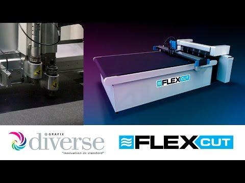 Diverse Grafix FlexCut: Shape cutting soft vinyl sheet material.