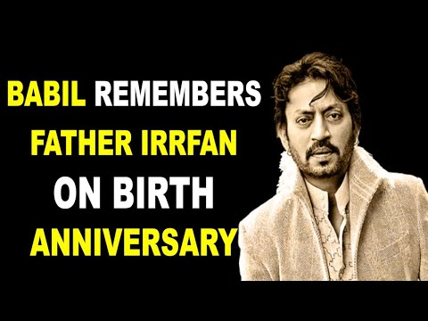 Babil remembers father Irrfan Khan on his first death anniversary