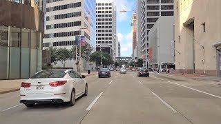 Fannin street of Houston on video.Houston is a big American