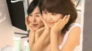 Yuri Tiffany Sooyoung CF - Biotherm , Behind The Scenes Apr30.2010 GIRLS' GENERATION