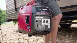 7. The All New Honda EU2200i: The Perfect Generator for Camping