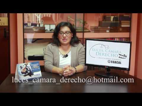 Programa 14 - La Excusa Absolutoria - Luces Cámara Derecho - EGACAL