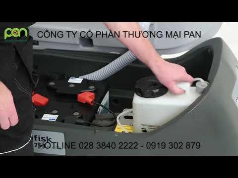 Hướng dẫn bảo trì máy chà sàn liên hợp BA 651/751