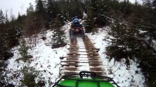 9. Hubbards, Nova Scotia, Winter ATV Rally. Jan 7, 2012(Part 4)