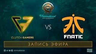 CG vs Fnatic, The International 2017 Qualifiers [Mila]