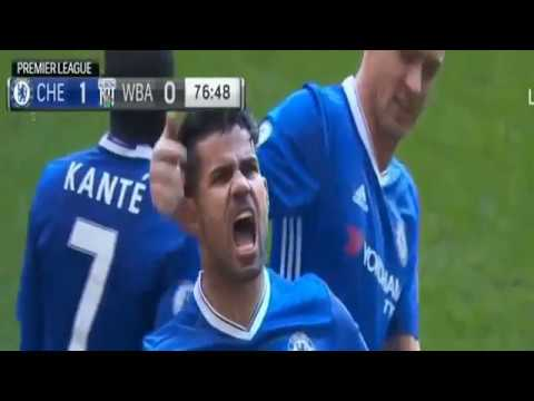 Chelsea VS West Bromwich 1-0 - All Goals & Highlights - Premier League