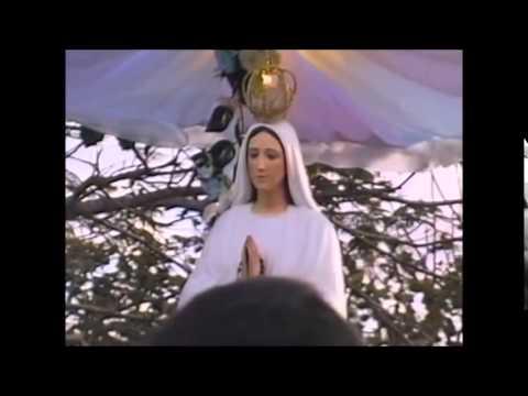 Vídeo Antigo: Pregação do Padre Pedro Lima em dia de Festa no Local das Aparições. Anguera-BA