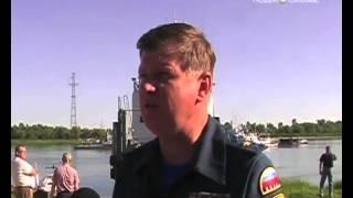 На Иртыше произошло кораблекрушение