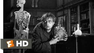 Frankenstein (1/8) Movie CLIP - Fritz Steals the Brain (1931) HD