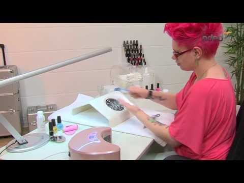 pin french uv geln gel mit silber pink glitzer nagelforum amp nailart on pinterest. Black Bedroom Furniture Sets. Home Design Ideas
