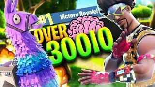 300+ IQ LLAMA LLAMA!!! *LIVE COMMENTARY* (Fortnite Battle Royale Gameplay)