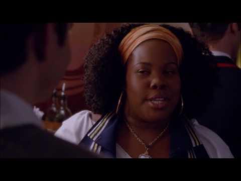 Glee - Kurt and Mercedes lima bean scene 6x12 (видео)