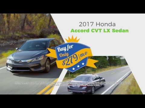 Honda Of Roanoke Rapids  - Picture Yourself in a 2017 Honda Accord!